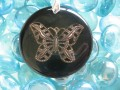 """Butterfly"" fantaisie pendant"